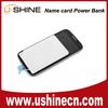 China Shenzhen supplier Pocket Wallet Card Power Bank Batteries Distributor Shop online for samsung galaxy S5