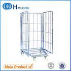 Supermarket cargo storage rolling cage cart