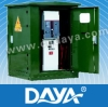 Cable branch box with SF6 switchgear