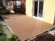 Color stability and Green deco material outdoor deck wpc