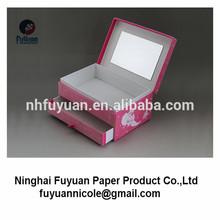 creative your own paper jewelry velvet box