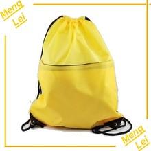 nylon cute waterproof drawstring backpack bag