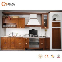 Foshan Wooden Kitchen-long narrow kitchen tables