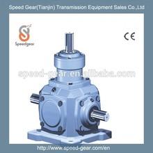 T spiral bevel gear speed variator