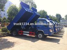 foton forland 4x2 3 pequeños toneladas camión de volteo
