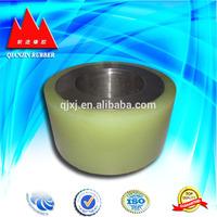 Heavy duty solid rubber wheels