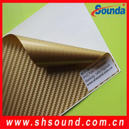 yüksek kaliteli pvc karbon fiber laminat