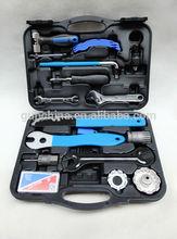 17pcs professional bicycle repairing kit / bike tool