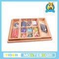 لعبة خشبية الأطفال التعليمية( مونتيسوري)-- الطرح لعبة الأفعى