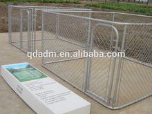 Outdoor Large Metal Chink Link Pet Dog Cage Dog kennel.