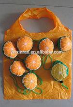 summer fruit shaped polyester folding bag