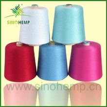 Manufacturing hemp 24nm long spinning yarn