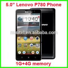 "original Lenovo P780 Smartphone quad core MTK6589 Android 4.2 OS 4Gb+1GB Ram 5.0"" GPS WIFI 4000mah 1280*720 Lenovo P780"