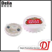 Colorful masks soft pvc custom magnetic bottle opener
