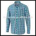 Diseña lo más tarde el con estilo ocasional de la sublimación de vaquero camisa para hombre