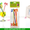 hot sell wedding plastic swizzle sticks