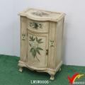 antigo flor impressão curvo fir reciclado móveisdemadeira