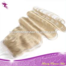 Body Wave 613 Closure 100% unprocessed Peruvian Hair Lace Closure