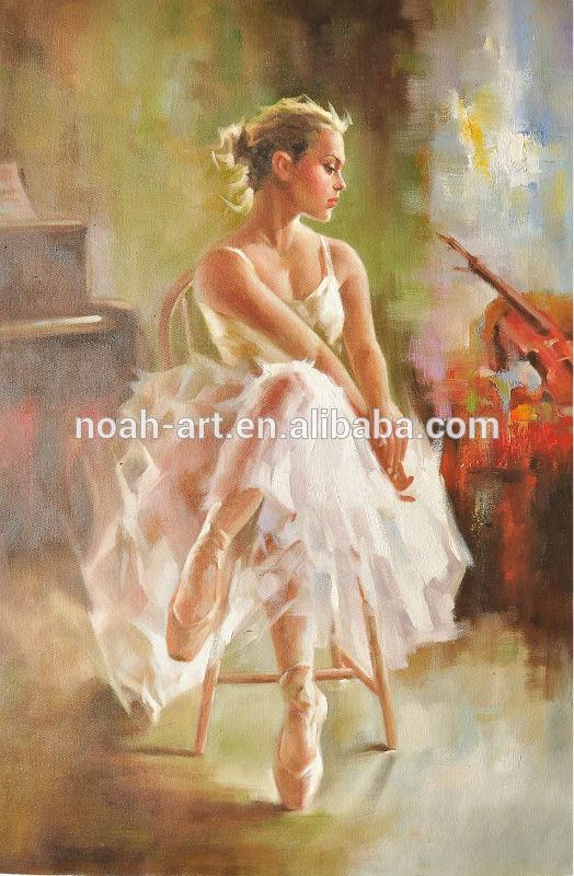 Impressionist Ballet Impressionist Painting Ballet
