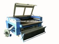 AOL-1610 cnc roll fabric laser cutting machine eastern window blind cutting machine for sale