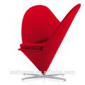 Maßgeschneiderte designer möbel zeitgenössischen herz sofa, Fiberglas-Rahmen, lederzurichtung, geeignet für wohnzimmer