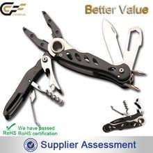 2014 new design patented superior multi folding knife cutting pliers power tool / corkscrew pliers multi tool
