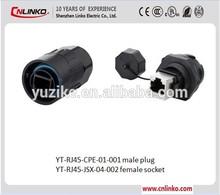 waterproof dc power plug
