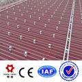 azulejo de techo de montaje del sistema solar sistema de color de acero del techo de la instalación