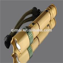5 model Waterproof Adjustable Focus 3.7V rechargeable led flashlight