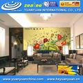 Melhores vendas! Eco solvente de textura wallpaper, decorativa papel de parede, branco escovado revestimento de parede