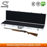 Leather Gun Case Metal Aluminum Case Pistol Case