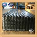 Folha de papelão ondulado preço roofing material metal