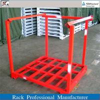 steel tyre storage racks pallet stacking frames