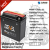 Rechargeable high power ytx5l-bs motorcycle dry battery