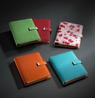 Top Selling Fashion Cute Leather Mini Notebook Case