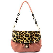 Korean fashion hobo ladies pu leather handbag