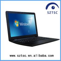 13.3 inch front camera laptop/RAM 2G/4G HDD 160G/250G/320G/ 500G netbook WinXP/7 Intel D2500 notebook pc