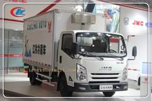 Caminhão frigorífico van para carne e peixe, comercial de caminhões e vans