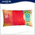 de lino decorativos hechos a mano de los animales en forma de almohada