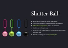 2014New product bluetooth remote shutter,mobile phone localizer