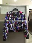 2014 spring&autumn fashion print jacket overcoat
