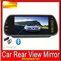 حار بيع lcd رصد سيارة مرآة الرؤية الخلفية السيارة بلوتوث mp5 سعر المصنع