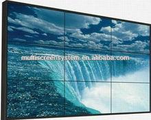 60 inch Samsung/LG lcd video wall splicing screen with HDMI / VGA /DVI input slot