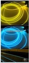 PWWM No Jacketing 100meter/roll Diameter 7mm Fiber Optic Night Lights In Outdoor Lighting
