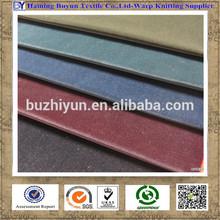 100%Polyester Warp Knitting Super soft Double Color Sofa Velboa Fabric