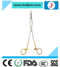 CE approved medical devices TC needle holders with double joint for abdominal operation
