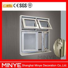 Alen brand top hung window/cheap casement window/double casement sash window