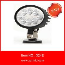 24w led off road work light automotive sensors