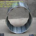 Concertina fil de fer barbelé, pas de boucles 33,25kg une bobine, mur de protection( ss matériel)