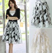 Z82115A 2014 korean summer fashion pretty lace lady skirts